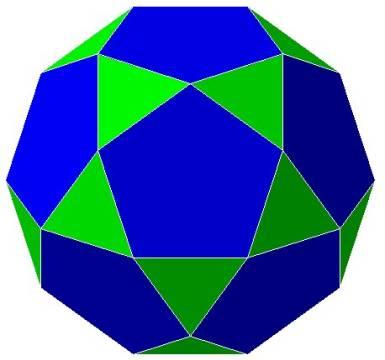 The Icosa–Docedahedron