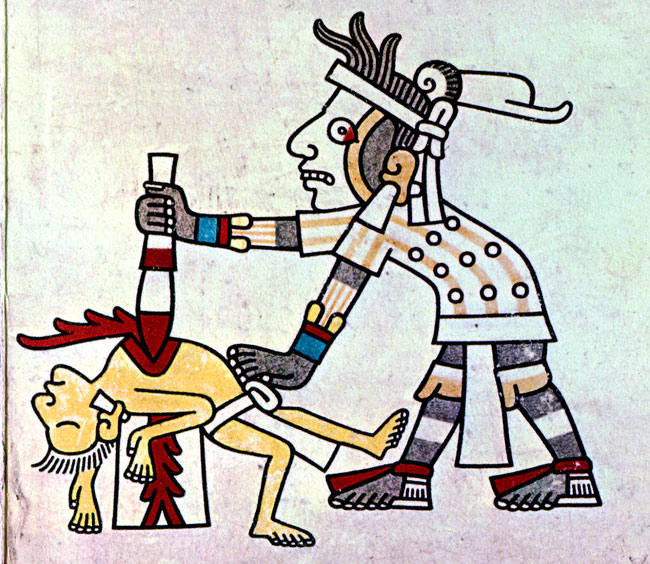 Aztecs Blood Sacrifice