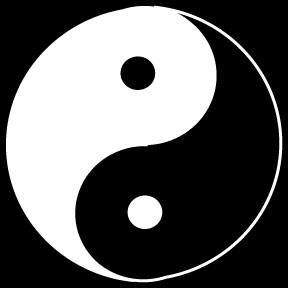 traditional yin-yang symbol