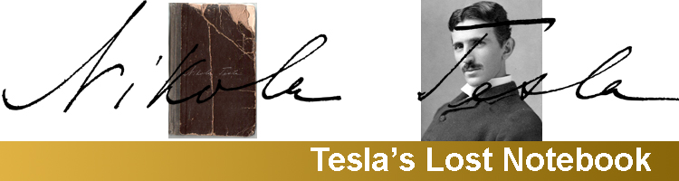Tesla's Lost Notebook